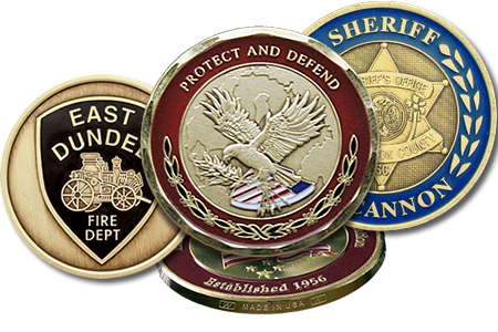 History of the Challenge Coin | Custom Coin Minting, Custom