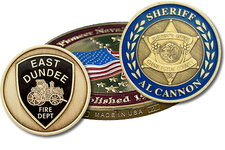 Custom Coins | Custom Coin Minting | Wendell's Inc